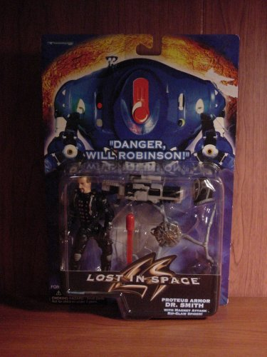 Lost In Space Dr. Smith figure in Proteus Armor with Magnet Attack Spider.