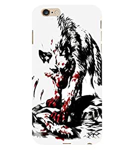 HiFi Designer Phone Back Case Cover Apple iPhone 6 :: Apple iPhone6 ( Fox Hunter Wild Animal )