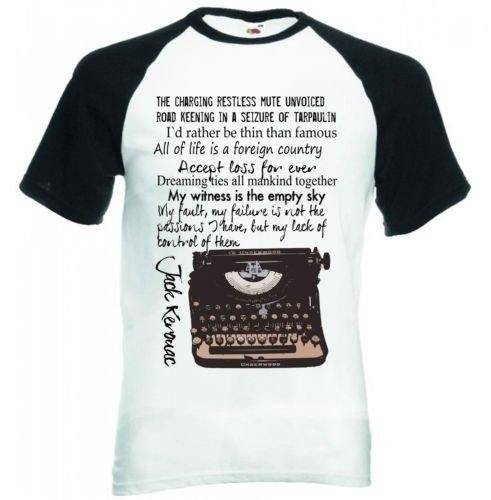 Jack Kerouac Typewriter Quote -