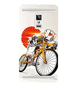 Cycle sport 3D Hard Polycarbonate Designer Back Case Cover for VIVO X3S