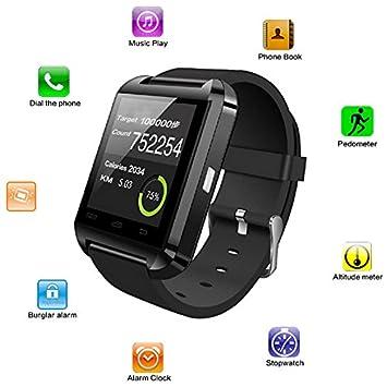 Bingo Black U8 Bluetooth Watch