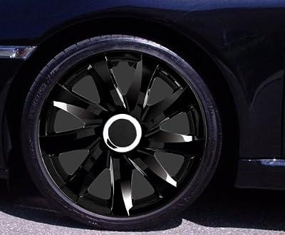 Radkappen DRIFT schwarz 14 Zoll Renault Clio, Kangoo, Megane, Thalia, Twingo von Autoteppich Stylers bei Reifen Onlineshop