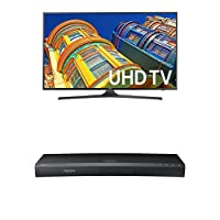 Samsung UN65KU6300 65-Inch TV with UBD-K8500 4K Blu-ray Player