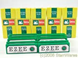Ezee Green Rolling Papers and Swan Extra Slim Filter Tips (600)