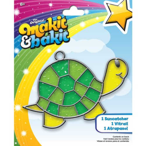 Colorbok TB-61816 Makit and Bakit Suncatcher Kit, Turtle
