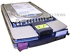HP 351126-001 Proliant Hard Drive 300GB SCSI U320 10K in tray