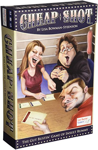 Cheap Shot of Insult Rummy Board Game