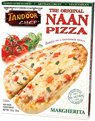 Margherita Naan Pizza, 7.8-Ounce Boxes (Pack of 12)