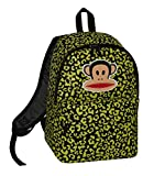 Paul Frank Julius Monkey Backpack Rucksack Shoulder Bag Back To School College Leopard Lime Green