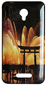 Vcare Shoppe Printed Back case cover for Micromax Canvas Doodle 4 Q391