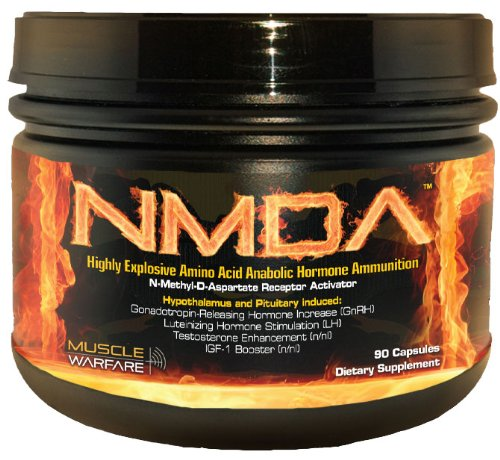 Muscle Warfare NMDA - 90 Capsules
