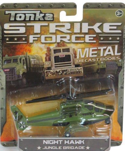 Tonka Strike Force Metal Diecast Night Hawk Jungle Brigade 1:64