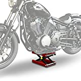 Motorcycle lift ConStands Mid-Lift M red for Harley Davidson Sportster 883 Iron (XL 883 N)