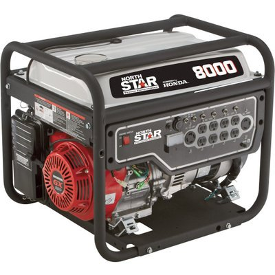 Northstar Portable Generator - 8000 Surge Watts, 6600 Rated Watts, Epa And Carb-Compliant