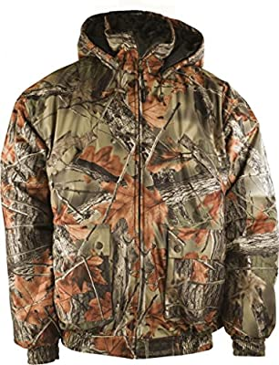 Trail Crest Men's Insulated & Waterproof Camo Hunters Tanker Jacket