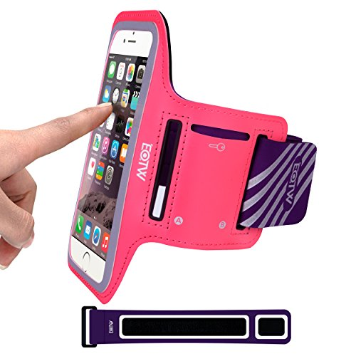 EOTW Sportarmband Handyhülle universell passend für iPhone, Samsung, HTC, usw., Oberarmtasche In Verschiedenen Farben und Größen für Laufen