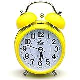 Deedo Quartz Analog Westclox Big Ben Twin Bell Battery Alarm Clock