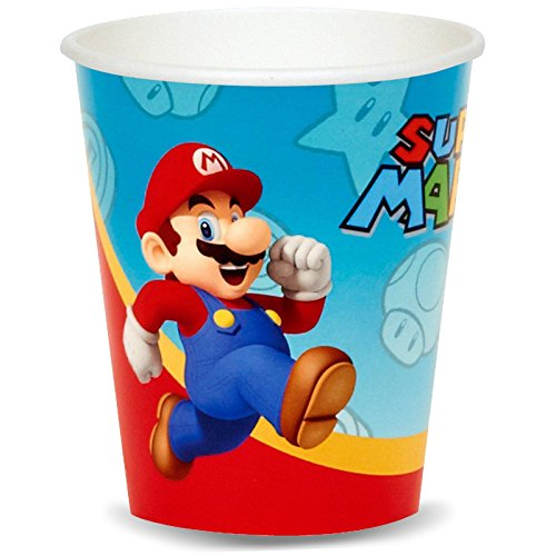 Super Mario Party 9 oz. Paper Cups (8)