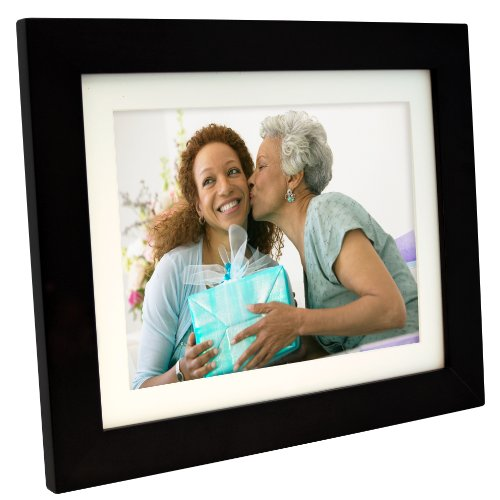Pandigital PI1056DW 10.4-Inch Digital Picture Frame with 2 Interchangeable and Espresso Frame - 1GB Memory-Black (Pandigital Digital Frame compare prices)
