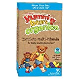 Yummi Bears Organics Multi-Vitamin for Kids 90 Gummy Bears