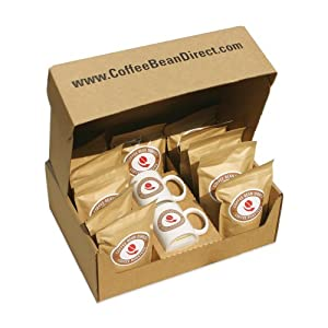 Green Unroasted Coffee Bean Sampler