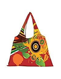 Snoogg High Strength Reusable Shopping Bag Fashion Style Grocery Tote Bag Jhola Bag - B01B971SIU