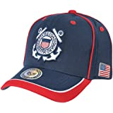Rapid Dominance Adult Unisex Piped Coast Guard Military Cap