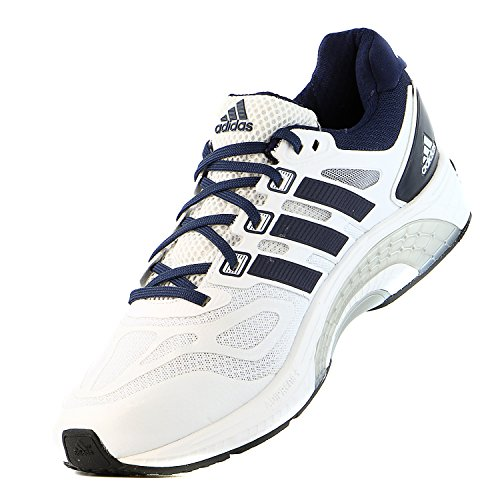 thumbnails of Adidas SM Supernova Sequence 6 M Running Sneaker Shoe - White/Navy/White - Mens - 9.5