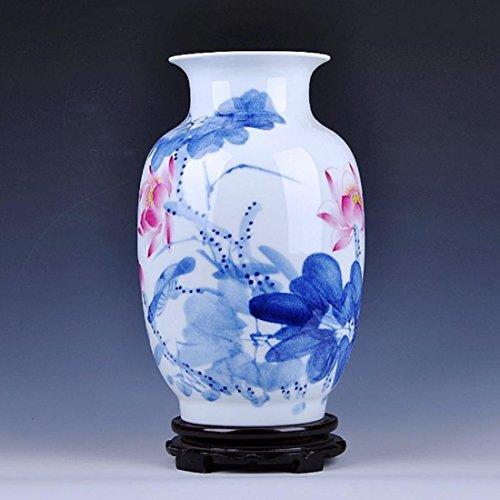 new-day-alte-arti-in-ceramica-dipinti-a-mano-e-artigianato-del-vaso-bottiglia-premio-33-cm-di-larghe