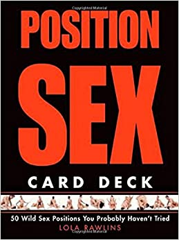Sex position playing card deck