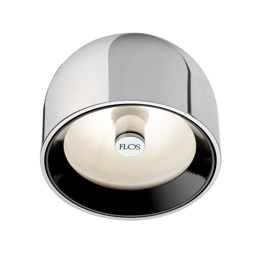 Flos Deckenleuchte Wan C/W aluminium F9550050
