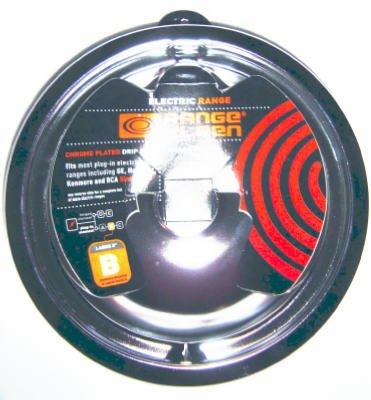 "Range Kleen P119 Porcelain ""B"" Series Drip Pan, 6-Inch - Quantity 12"