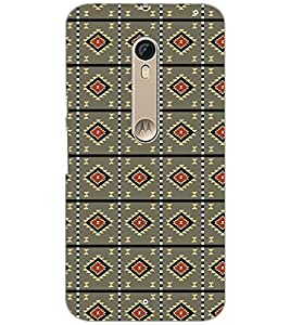PrintDhaba Pattern D-5217 Back Case Cover for MOTOROLA MOTO X STYLE (Multi-Coloured)