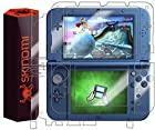 Skinomi® TechSkin - New Nintendo 3DS XL Screen Protector (2015 Version) + Full Body Skin Protector with Free Lifetime Replacement Warranty / Front & Back Premium HD Clear Film / Ultra High Definition Invisible and Anti-Bubble Crystal Shield - Retail Packaging Compatible with: Nintendo 3DS LL Japanese Version