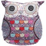 Megan Purple Owl Cushion with Inner