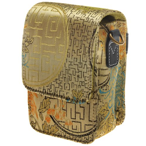 icon Silk Fashion Camera Carrying Case (CS130-GLD)