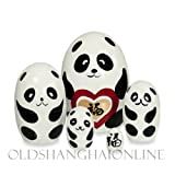 Wood Nesting Doll - Panda (Good Luck)