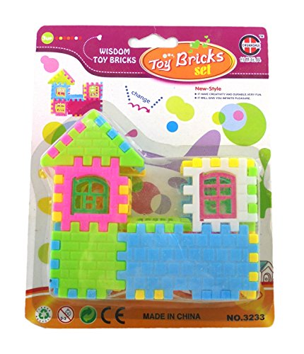 Toy Bricks Home Building Bricks Set Educational Toys Building Blocks Set for Boys and Girls (Jurassic World Rubber Bracelets)