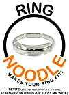 Ring Guard by RING NOODLE (PETITE – less reduction) – Ring Size Reducer, Ring Guard, Ring Size…