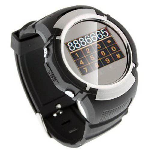 Indigi® Unlocked! Stylish Gsm Touchscreen Watch Phone W/ Spy Camera Mp3 - Free Bluetooth