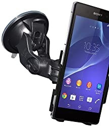 Amzer 96990 Suction Cup Mount for Windshield, Dash or Console for Sony Xperia Z2