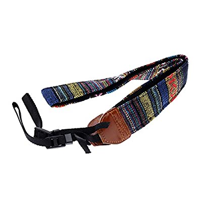 Vintage Camera Cotton Shoulder Strap Neck Strap Belt for Canon Sony Panasonic DSLR Cameras
