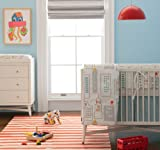 Dwellstudio Crib Set, Skyline