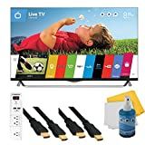 "49"" 2160p 120Hz 3D Smart LED 4K Ultra HDTV WebOS Plus Hook-Up Bundle (49UB8500). Bundle Includes TV, 3 Outlet Surge protector with 2 USB Ports, 2 -6 ft High Speed 3D Ready 1080p HDMI Cable, Performance TV/LCD Screen Cleaning Kit, and Cleaning Cloth."
