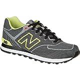 ニューバランス New Balance 574 Woven Pack Shoe - Men's Grey Yellow アウトドア メンズ 男性用 靴 シューズ ブーツ Boots & Shoes 並行輸入