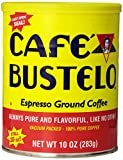 Cafe Bustelo Coffee Espresso, 10-Ounce Cans (Pack of 4)