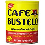 Cafe Bustelo Coffee Espresso, 10-Ounce Cans (Pack of 4) ~ Cafe Bustelo