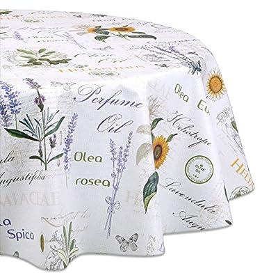 Wachstuchtischdecke OVAL und RUND Motiv u. Größe wählbar, Tischdecke Wachstuch abwischbar von Beautex auf Gartenmöbel von Du und Dein Garten