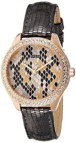 Guess para mujer-reloj analógico de cuarzo cuero W0626L2