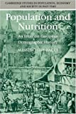 Population and Nutrition: An Essay on European Demographic History (Cambridge Studies in Population, Economy and Society in Past Time) (0521368715) by Livi-Bacci, Massimo